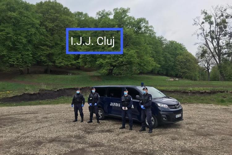 Jandarmii clujeni patrulează și păzesc zonele de grătare în minivacanța de 1 mai FOTO