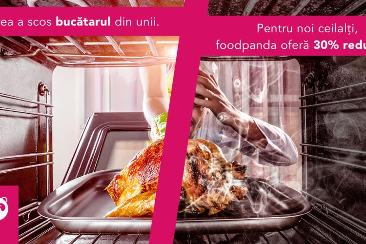 foodpanda susține afacerile clujene: 30% discount la produsele selectate din meniurile restaurantelor locale (P)
