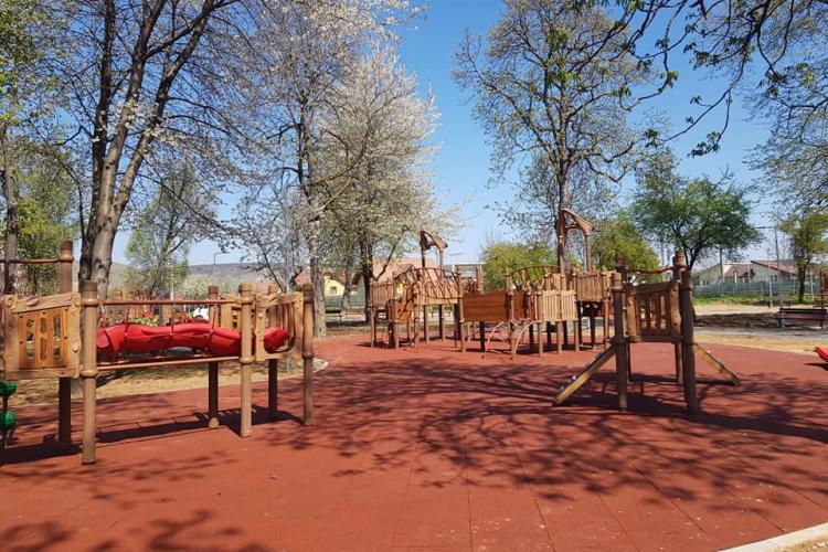 Parcul din Florești, de la fostul Poligon, este aproape de finalizare - FOTO