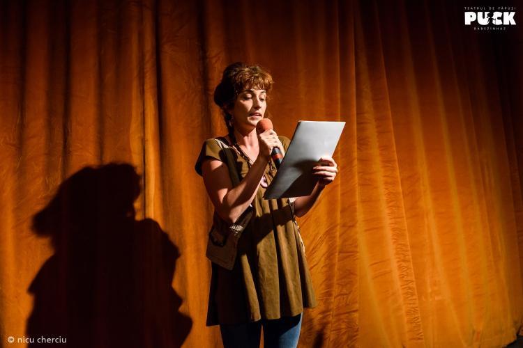 """Premieră națională la Teatrul Puck! A fost lansat proiectul """"AudioPuck, poveștile copilăriei"""""""