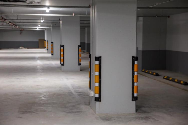 Un nou parking aproape de finalizare la Cluj. Cum arată FOTO