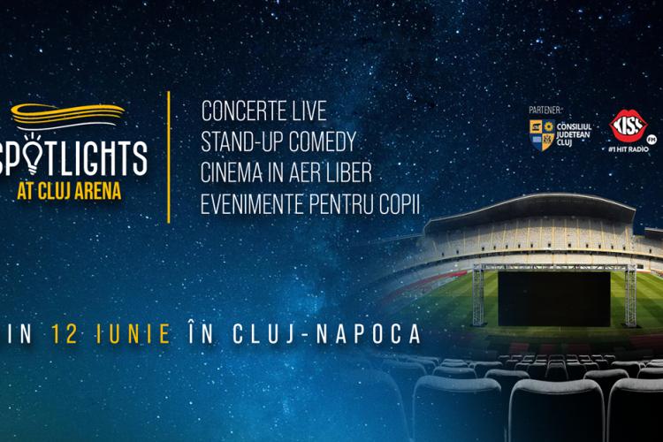 Cluj Arena se transformă temporar în teatru în aer liber. Ce spectacole vor avea loc