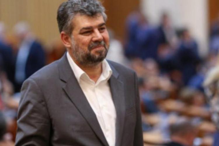 Șeful PSD, Marcel Ciolacu, nu poartă masca pentru că are deviație de sept