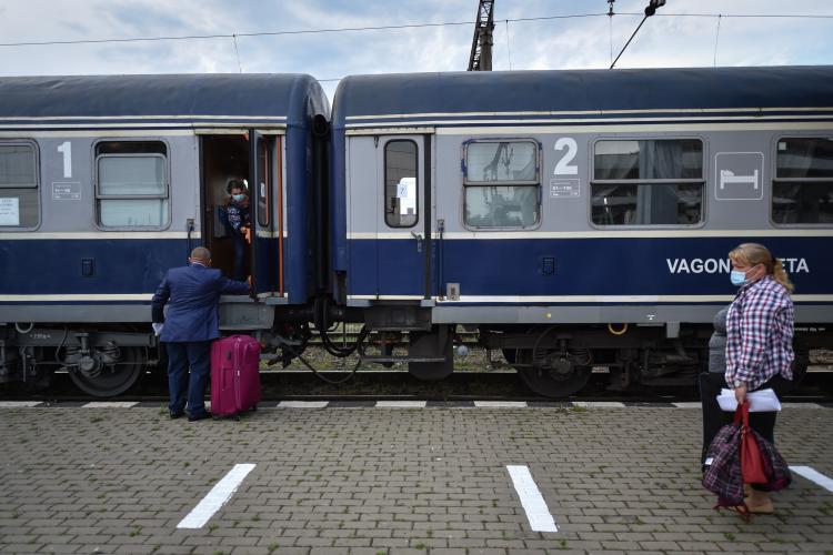 Din 1 iunie, CFR Călători repune în circulație trenuri suspendate. Se va circula cu mască și cu respectarea distanței