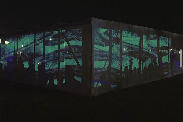Proiecții video-mapping în centrul Clujului! Spectacolul are loc simultan în 10 orașe din țară