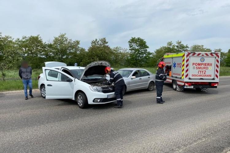 Accident cu două victime la Topa Mică FOTO
