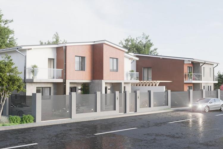 Vilă la preț de apartament în noua zonă de dezvoltare imobiliară a Clujului