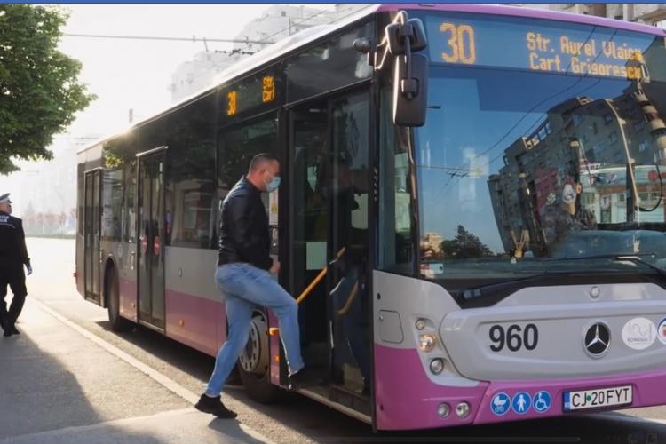 Boc revine cu explicațiile privind folosirea transportului în comun: Masca este obligatorie - VIDEO