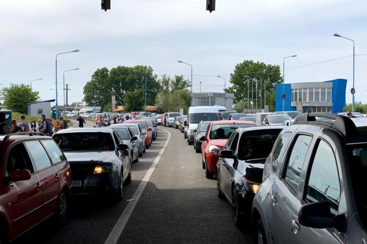 29.500 de români au intrat în țară pe la frontierele din Vest