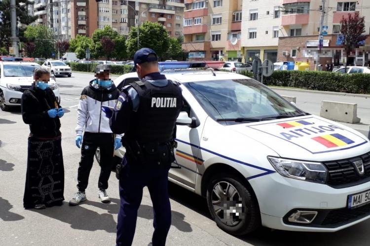 Controale de amploare la Cluj pentru depistarea celor care nu respectă măsurile de prevenire a COVID-19 FOTO