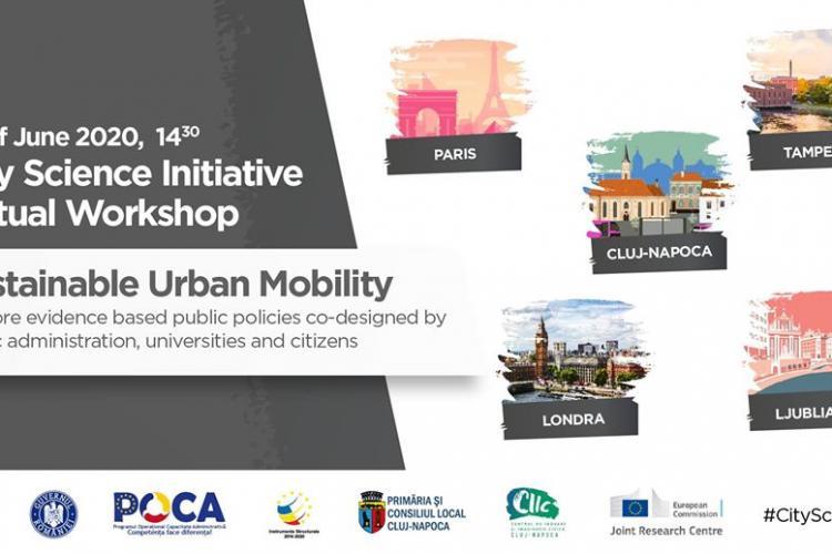 Webinar CIIC în cadrul rețelei europene City Science Initiative