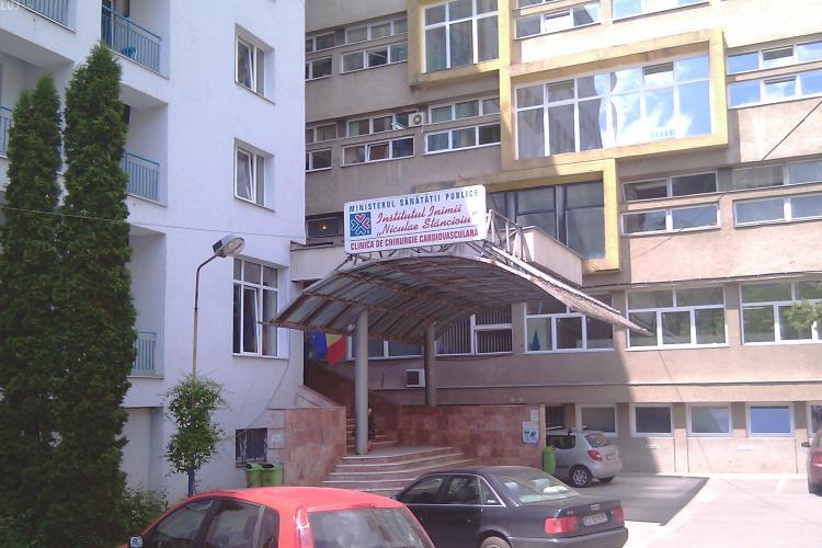 Patru pacienți depistați cu coronavirus și la Institutul Inimii din Cluj-Napoca