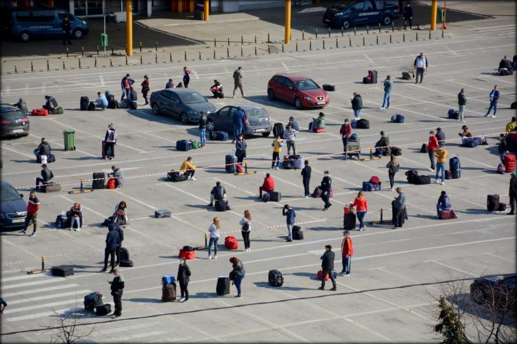 Revin la Cluj muncitorii plecați la cules sparanghel implicați în scandaluri în Germania