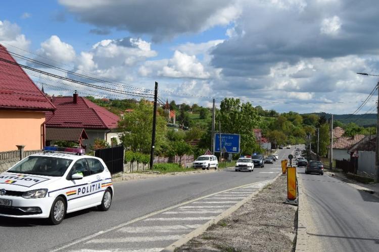 Controale în Feleacu și Vâlcele. Câte amenzi s-au dat în două ore FOTO