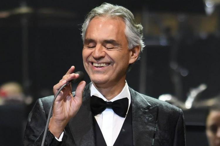 Celebrul tenor Andrea Bocelli a avut coronavirus. Cum a aflat că s-a infectat