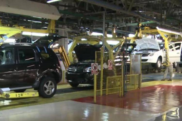 E criză la Dacia! 1100 de oameni trimiși în șomaj tehnic