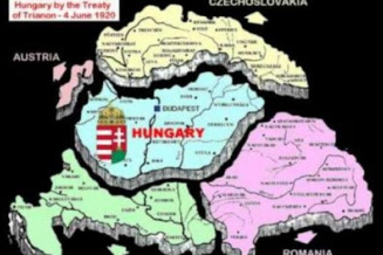 Maghiarii comemorează Tratatul de la Trianon, când Ungaria a pierdut teritorii, inclusiv Transilvania
