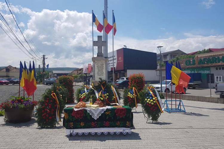 Ziua Drapelului Național, sărbătorită la Florești - FOTO