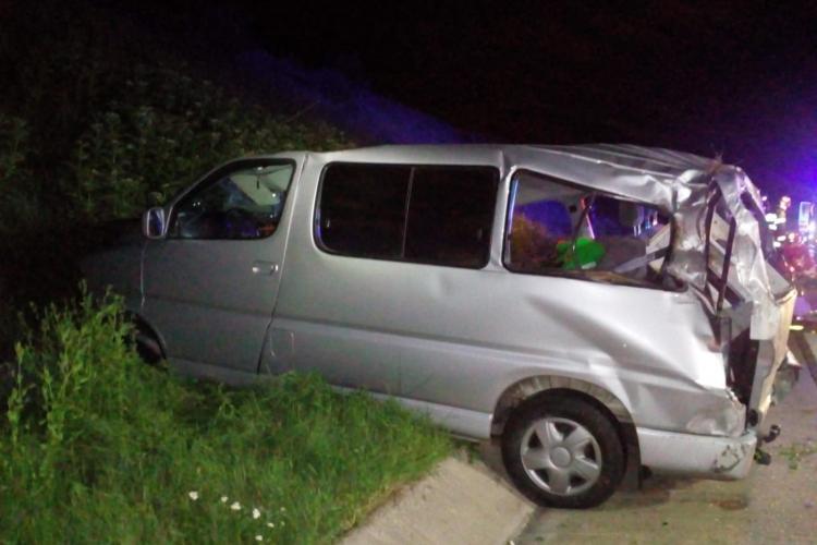 Accident cu DOI MORȚI pe Autostrada Transilvania, între Gilău și Turda - VIDEO