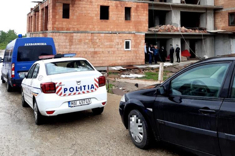 Controale la șantierele de construcții din Cluj-Napoca FOTO