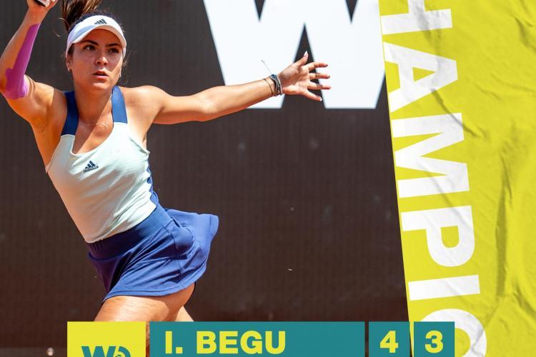 Gabriela Ruse a câștigat rutneul Winners Open, de la Cluj-Napoca. Premiul i-a fost înmânat de Simona Halep