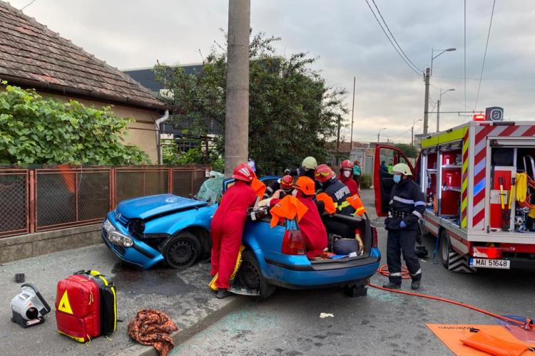 Galerie FOTO - Accident pe Traian Vuia, joi, 25 iunie
