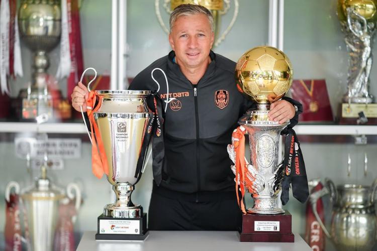 CFR Cluj nu are de gând să îl demită pe Dan Petrescu: Mai are contract pe doi ani