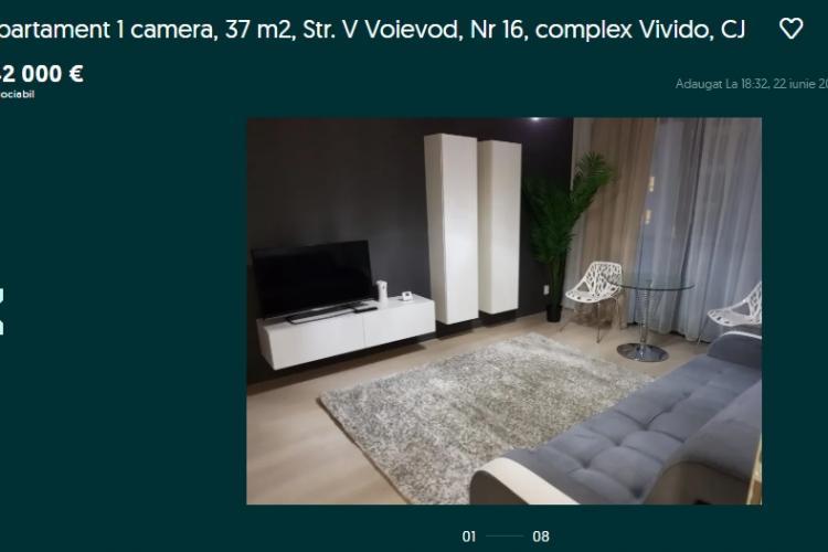 Ofertă de criză la Cluj: Apartament de 37 de mp lângă Iulius Mall la preț de vilă de lux