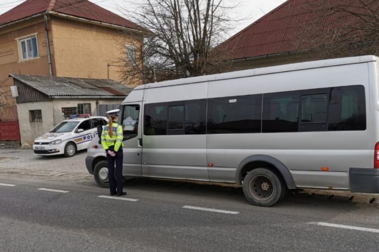 Razie de amploare în trafic la Cluj! Au fost vizați cei care efectuează transport de persoane FOTO