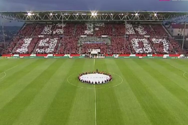 CFR Cluj se pregătește de câștigarea unui nou titlu