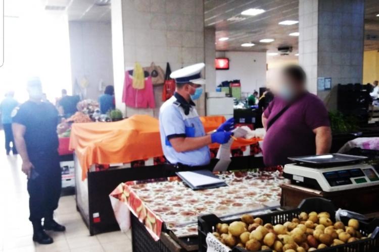 Razii de amploare la Cluj-Napoca în baruri, terase și în piețe. Câte amenzi s-au dat FOTO