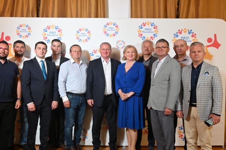 PRO România a validat candidații pentru primăriile din mediul urban al județului Cluj