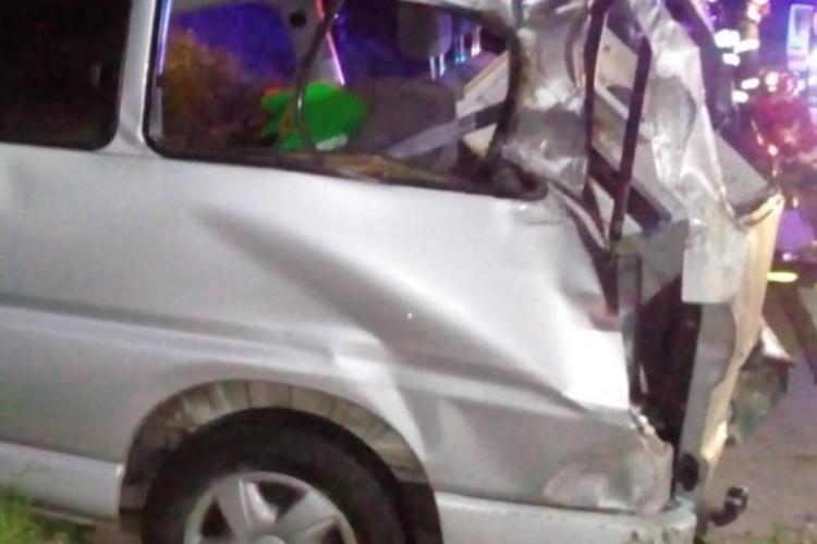 Detalii ȘOCANTE de la accidentul de vineri dimineața de pe Autostrada Transilvania: A vrut să evite un bărbat aflat pe carosabil