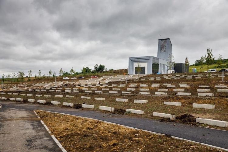 Noul cimitir al Clujului e aproape gata. Când trebuie să fie finalizate lucrările FOTO