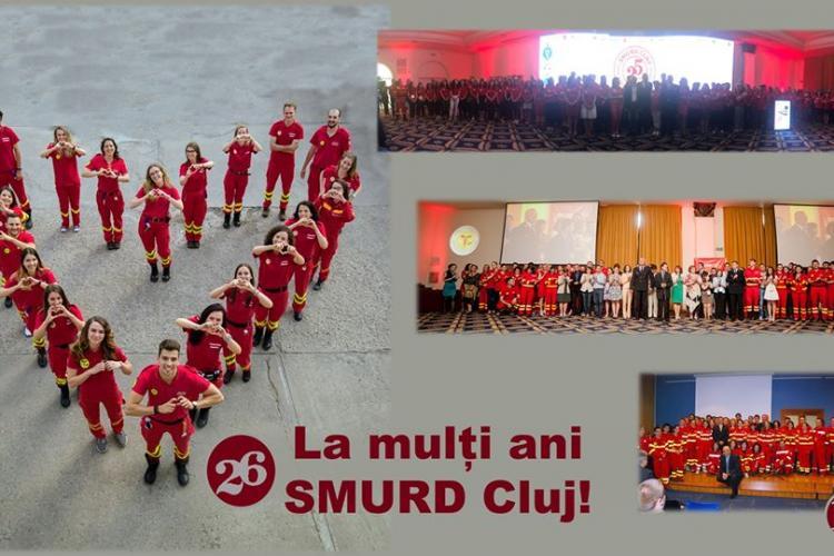 La mulți ani SMURD Cluj! Se împlinesc 26 de ani de la primul apel la 112