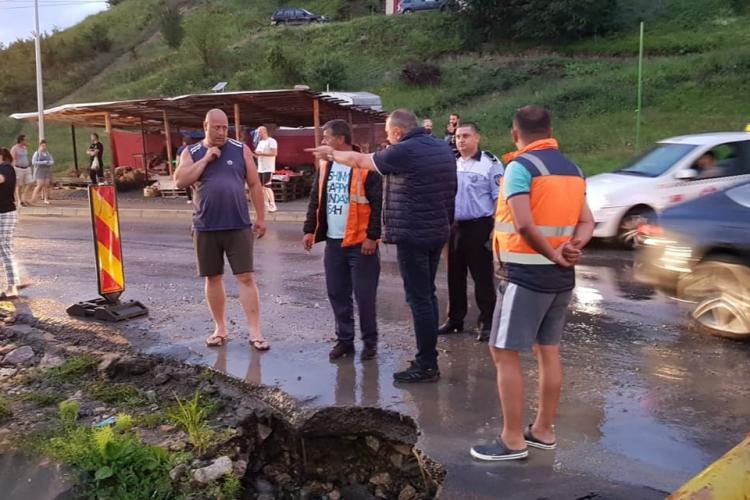 Constructorul va plăti despăgubirile pentru inundația de pe strada Eroilor, din Florești - VIDEO