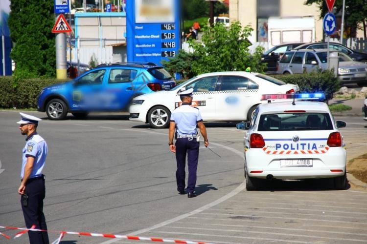 Controale de amploare în trafic la Cluj-napoca. Zeci de vitezomani au fost prinși în doar câteva ore FOTO
