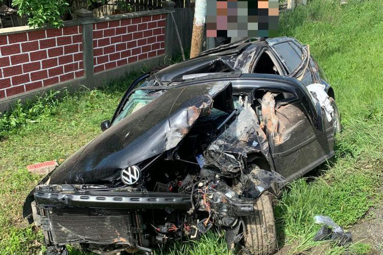 Accident mortal între Apahida și Căianu - FOTO