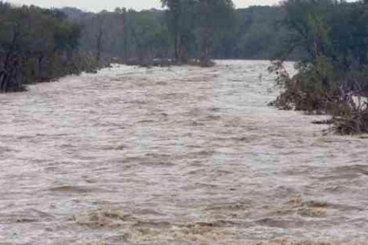 Cod portocaliu de inundații în Cluj și mai mutle județe din țară