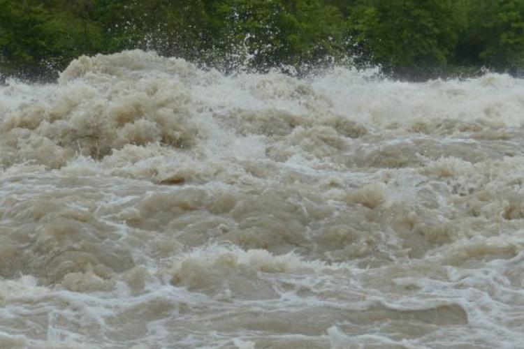 COD PORTOCALIU de inundații la Cluj-Napoca! Ce anunță hidrologii