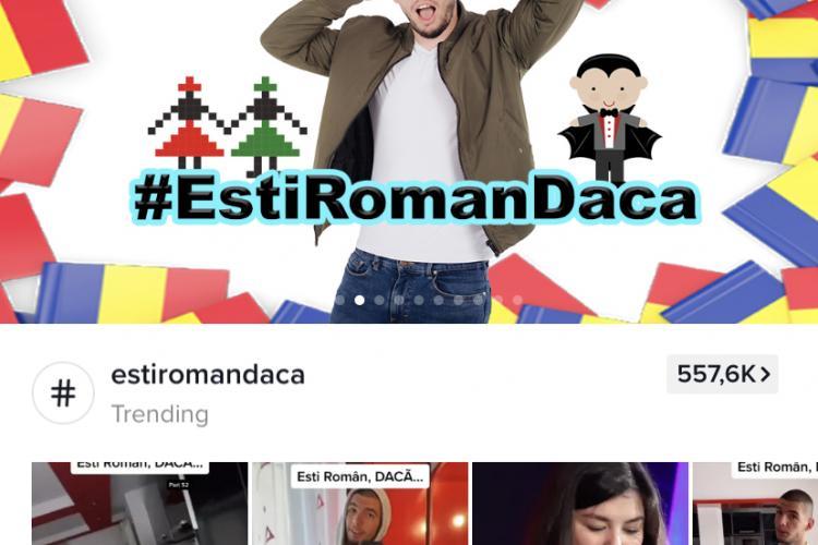"""Cine este clujeanul Vlad Vaida, vedetă pe TikTok cu mini-seria """"Ești român dacă…"""" - FOTO"""