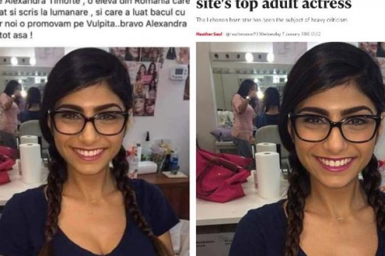 """Un consilier local PSD Câmpia Turzii a distribuit o poză cu o actriță porno care era prezentată ca """"elevă de 10 la bac"""""""