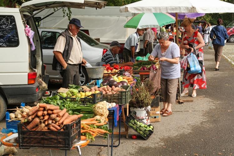 Se redeschide piața volantă din Gheorgheni. Ce reguli trebuie respectate