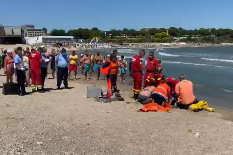 Un clujean a murit înecat, la Mangalia. Ce vârstă are victima  - VIDEO