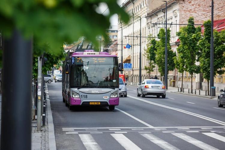 Trei linii noi de troleibuze în Municipiul Cluj-Napoca
