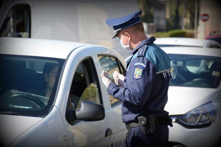 Controale în trafic la Florești. Câți șoferi au fost amendați în doar două ore