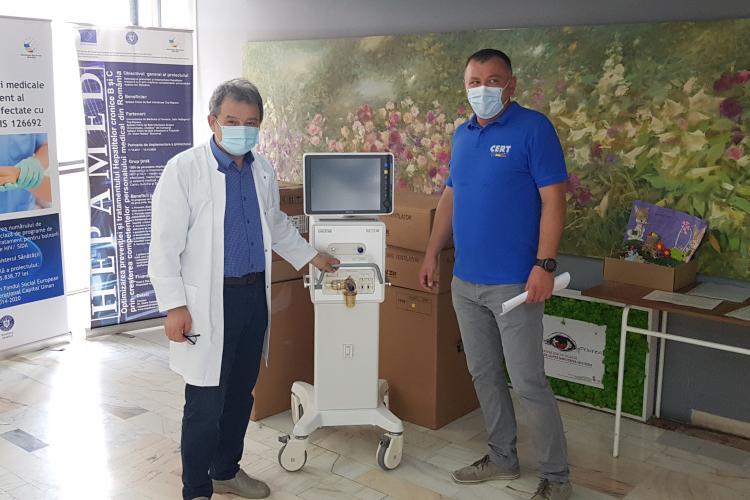 Asociația CERT Transilvania a donat 5 ventilatoare spitalelor din Cluj-Napoca - FOTO