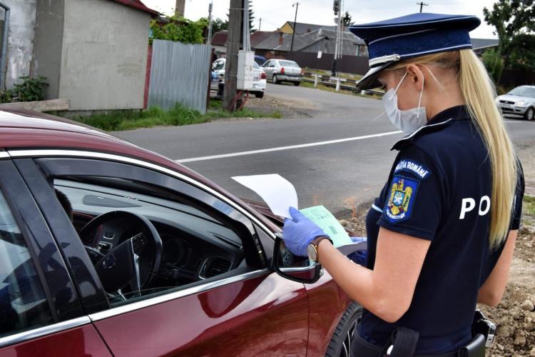 Controale la Dej, pentru a verifica respectarea stării de alertă FOTO
