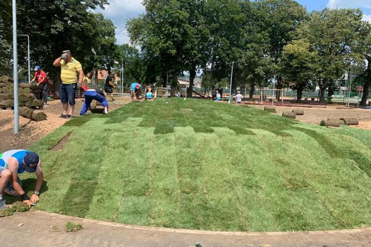 Parcul de la fostul poligon din Florești, inaugurat în aceast lună - VIDEO