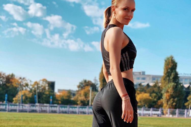 Cea mai rapidă atletă a României e și cea mai sexy! Mariana Baboi visează la Olimpiadă - Galerie FOTO